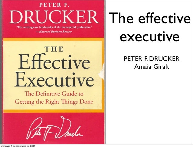 peter drucker contribution to management pdf