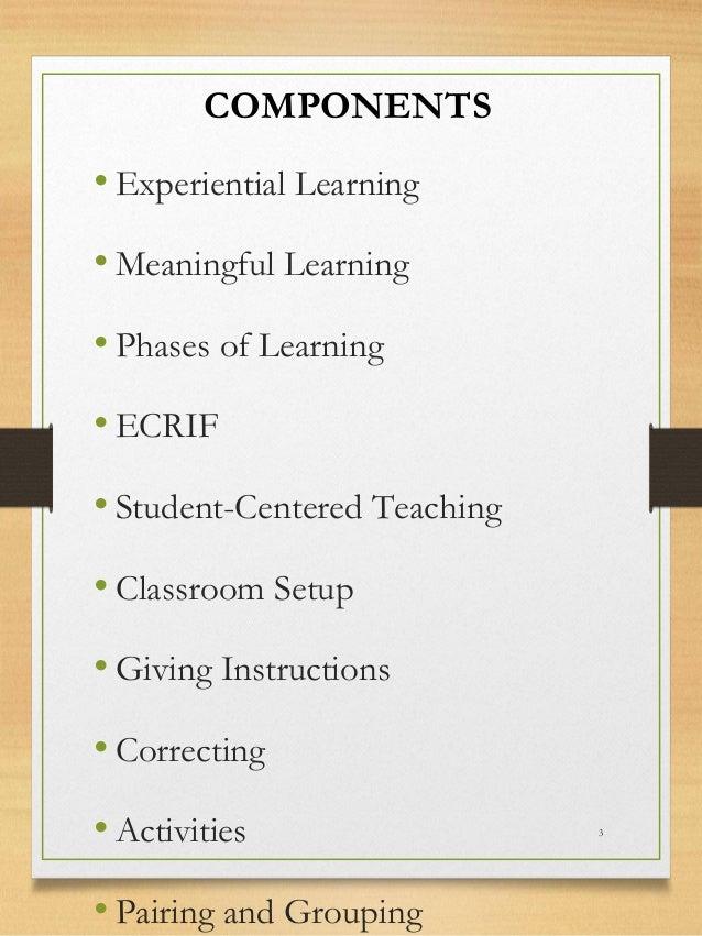 The Effective Lesson  Slide 3