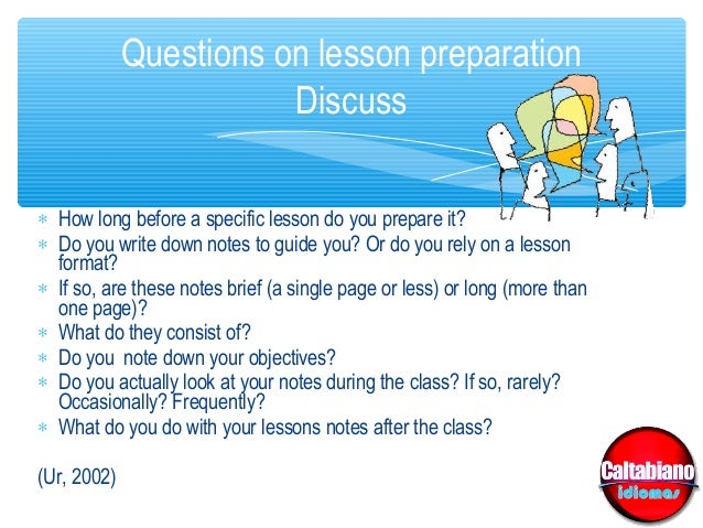 how to write a effective lesson plan