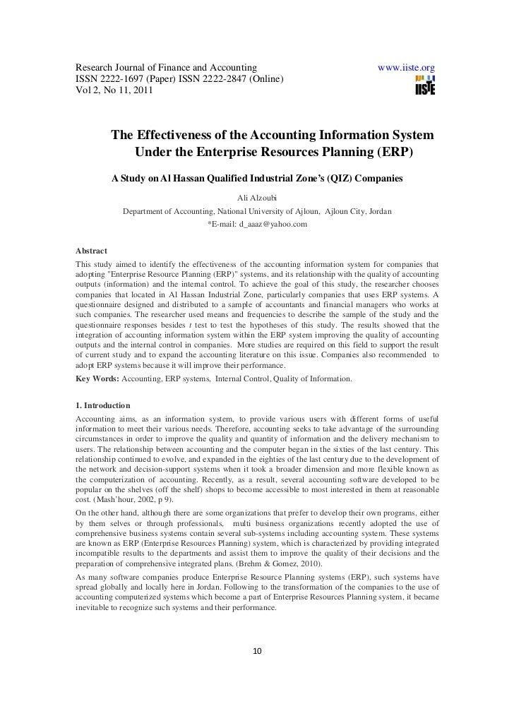 Research Journal of Finance and Accounting                                               www.iiste.orgISSN 2222-1697 (Pape...