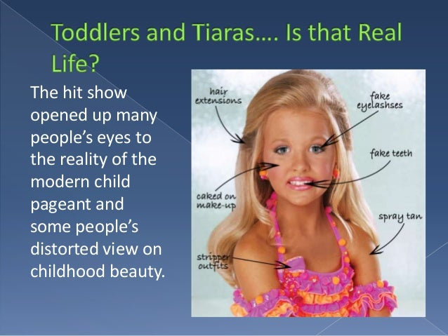 pageantry and toddlers essay