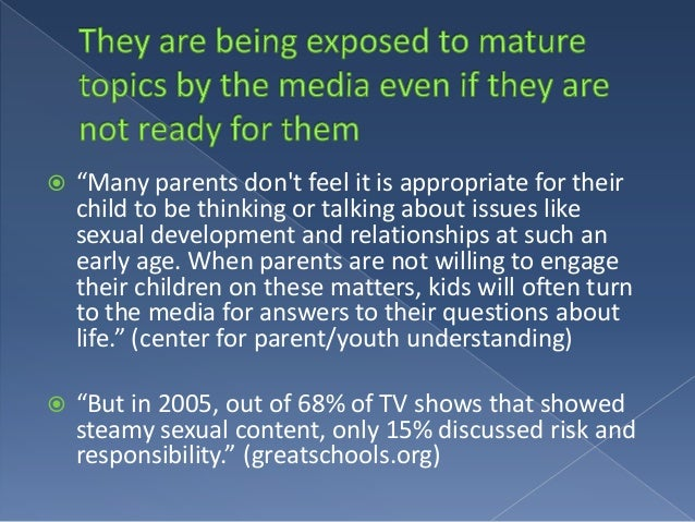 Sexuality in the mass media how to view the media critically
