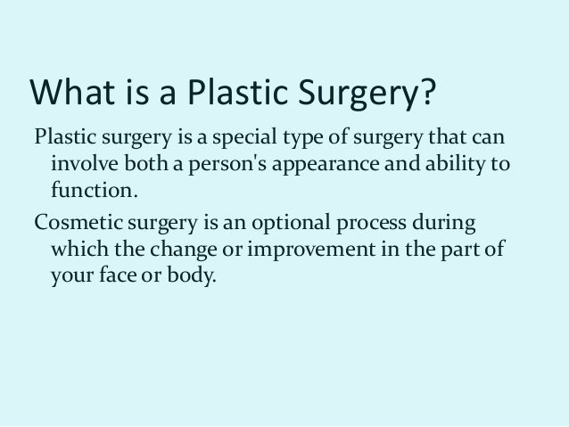the effects of plastic surgery About face why is south korea the world's plastic-surgery capital  the national fixation on plastic surgery began in the aftermath of the korean war, triggered by the offer made by the.