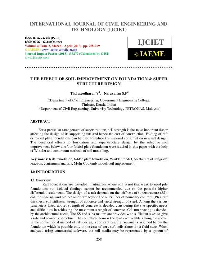 International Journal of Civil Engineering and Technology (IJCIET), ISSN 0976 – 6308 (Print),ISSN 0976 – 6316(Online) Volu...