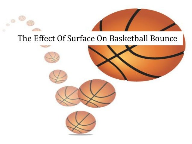 bouncing balls on different surfaces experiment