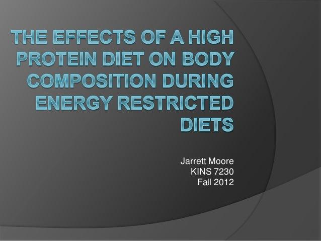 Jarrett Moore KINS 7230 Fall 2012
