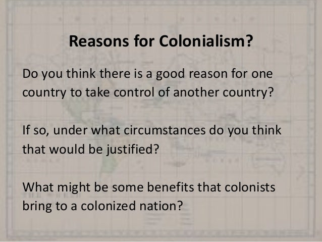 the impact of colonialism on the Do you consider these two incidents as similar phenomenon according to my understanding, the colonialism has completely different impact to the liberation movements.