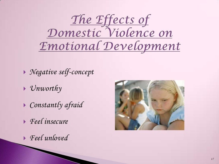 "the negative effects of domestic violence on children ""the effects of domestic violence on the mental health of children and adolescents the negative long-term effects of domestic exposure are well."