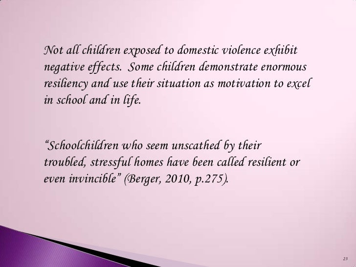 the negative effects of child abuse and domestic violence on children in america While some children have long-lasting effects what are some behavioral effects of child abuse what are common effects on children who witness domestic violence.