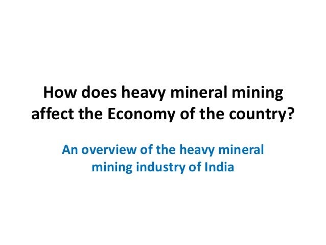 the economic effect of mining on