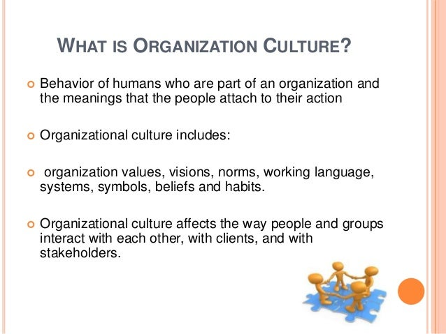 impact of the organizations culture and values In the new book the culture cycle, professor emeritus james l heskett demonstrates that developing the right corporate culture helps companies be more profitable and provides sustainable competitive advantage corporate culture is often thought of as a hard-to-define, or soft concept in management.