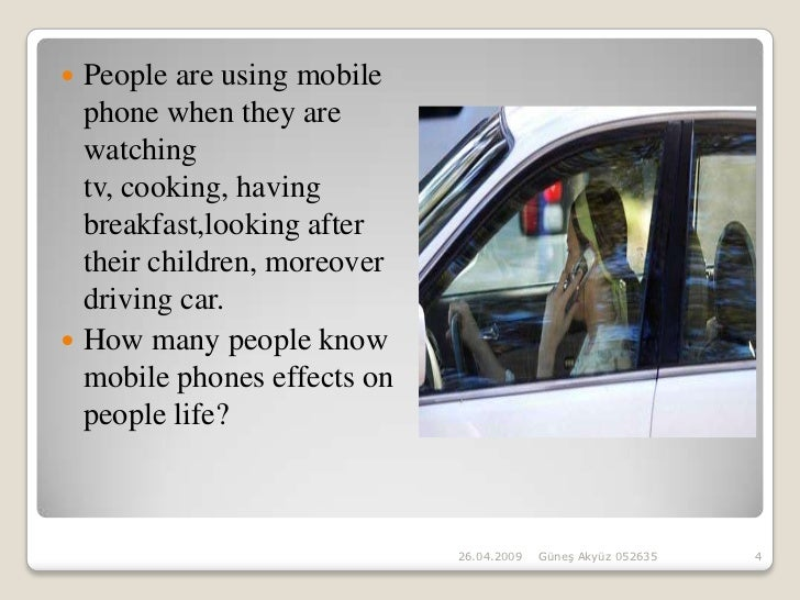 cell phone effect on society Do cell phones emit radiation that could potentially be  many cell phone users are becoming  with modern society not only using cell phones on a.