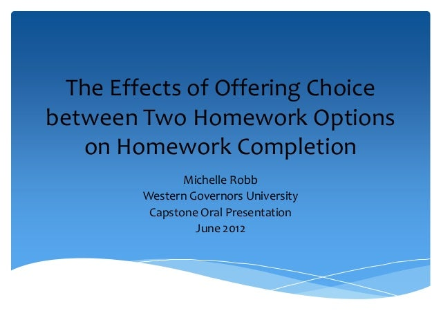 consequences of choices essay For in-class or online essay questions, each student generates a  let students  make choices about learning where the consequences aren't.