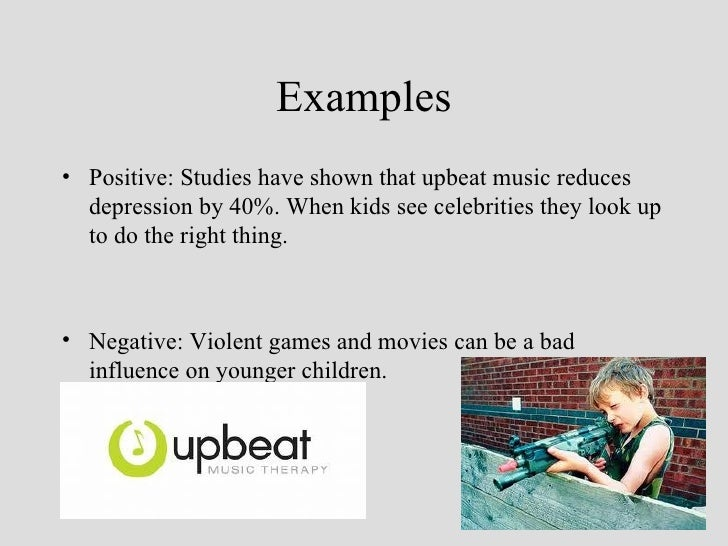 negative effects pop culture has on Free essays on pop culture positive and negative effects  search  pop culture has become one of the largest tools to shape the ideals of much the youth across .