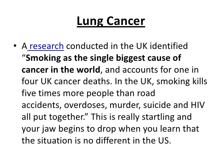 the effects of smoking <br > 7
