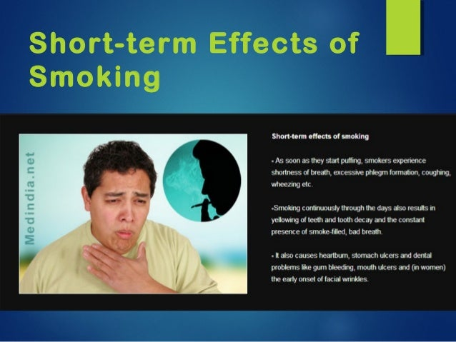 essay on bad effects of smoking