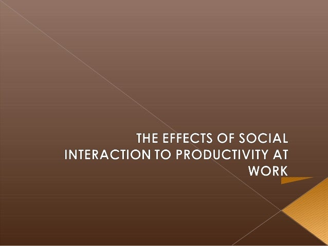 Social interaction is a complex process and we found it interesting that humans respond more quickly in groups but that mo...