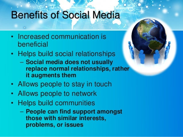 8 Benefits of Social Media for Business