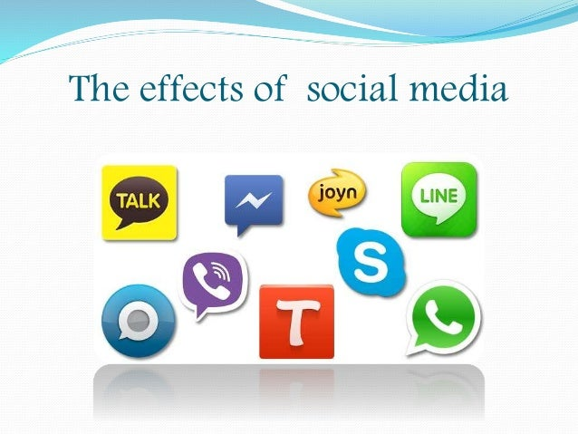 what are the effects of social In the relatively short time, they've been in existence, social media has had some very positive effects in terms of empowering and connecting people at the.