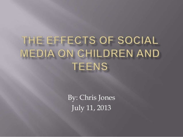 the effects of media on children and teenagers American children watch an average of four hours of television hundreds of studies of the effects of tv violence on children and teenagers have found that children may: become immune parents can also use these measures to prevent harmful effects from television in other areas such as.