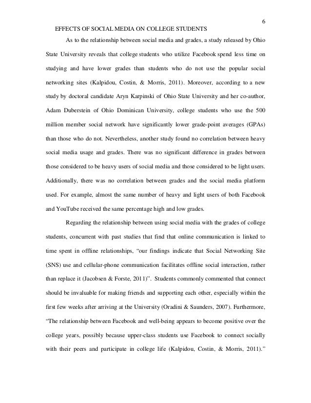 short essay examples for college