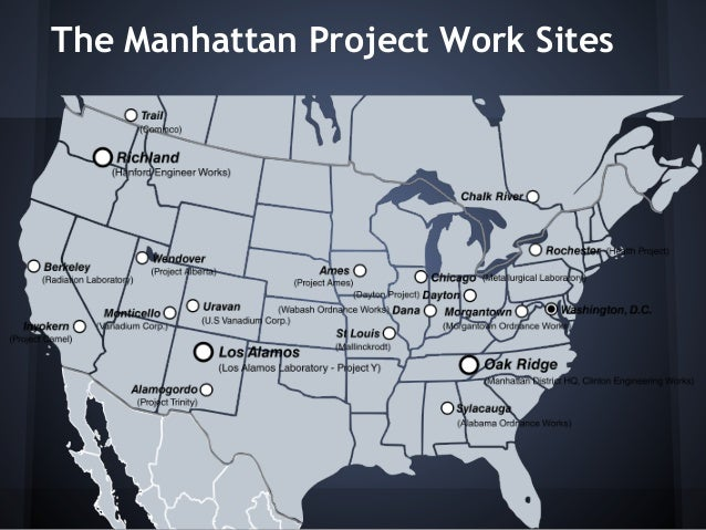 Impact of the manhattan project