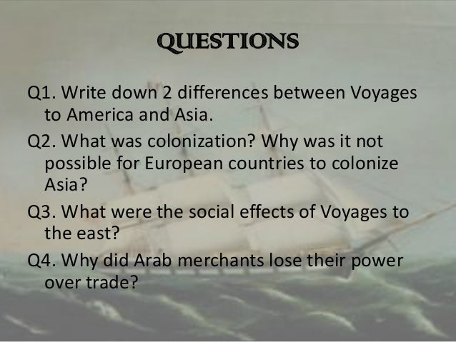 """effects on europe from the discovery of america Unit # 2 – """"the discovery of north america  how did european exploration impact the native americans what impact did the native americans have on european ."""