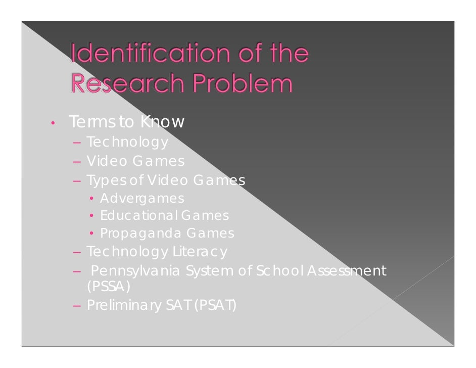 the effects of video games in Graduate theses and dissertations graduate college 2010 the effect of video games on family communication and interaction dustin l redmond iowa state university.