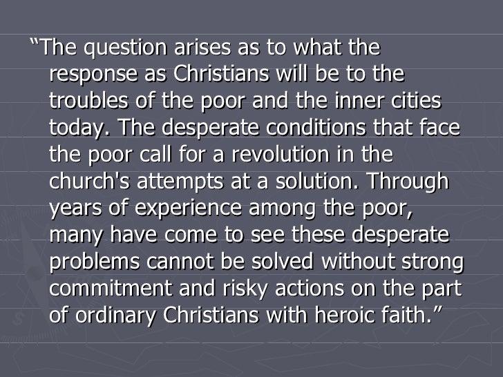 Christian Community Development 1:  Eight Components Slide 2