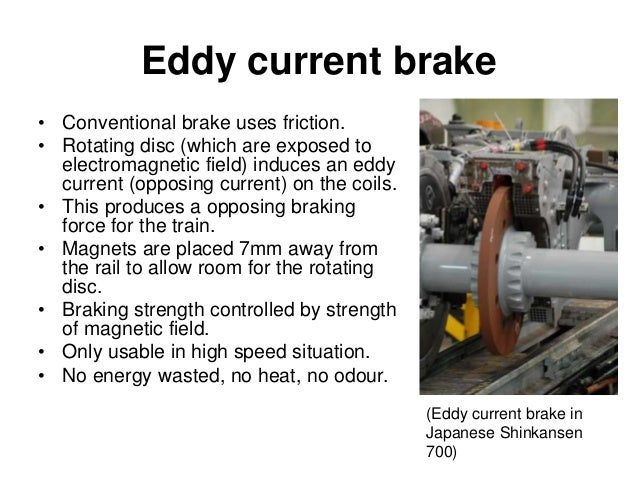 The electric motor for Eddy current motor speed control