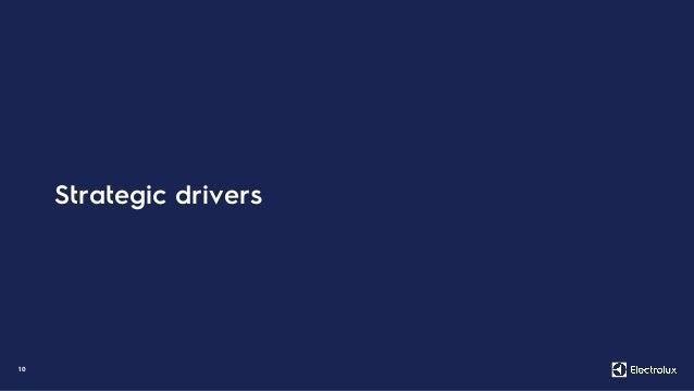 1 0 Strategic drivers
