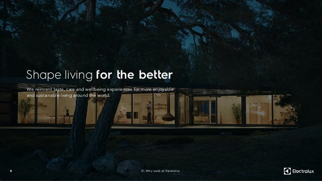 Shape living for the better 8 We reinvent taste, care and wellbeing experiences for more enjoyable and sustainable living ...