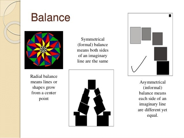 Elements Of Design Balance : The elements and principles of design best