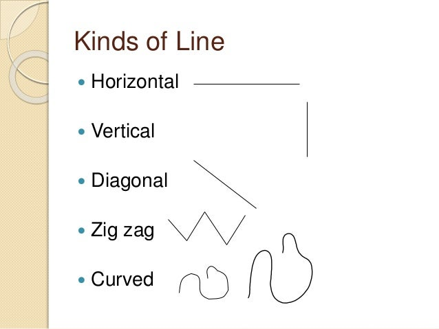 Different Kinds Of Lines In Art And Their Meanings : Number names worksheets vertical horizontal diagonal