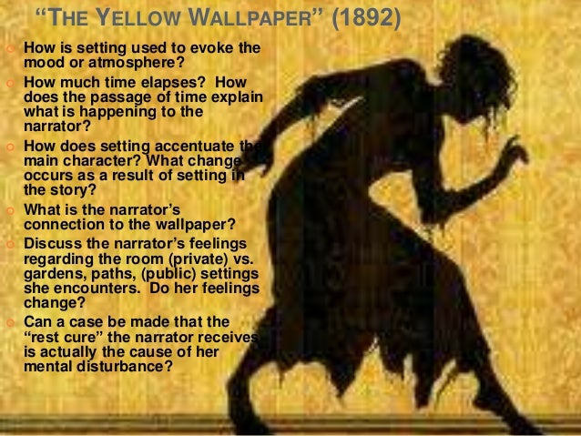 realism in the yellow wallpaper