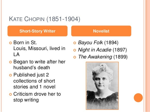 kate chopin writing style Free essay: the writing style and beliefs of kate chopin kate chopin was an  extraordinary writer of the nineteenth century despite failure to receive.