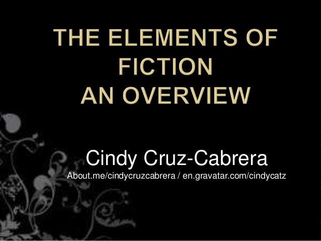 Cindy Cruz-Cabrera About.me/cindycruzcabrera / en.gravatar.com/cindycatz
