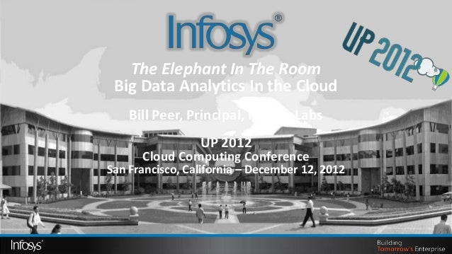 The Elephant In The Room Big Data Analytics In the Cloud    Bill Peer, Principal, Infosys Labs                 UP 2012    ...