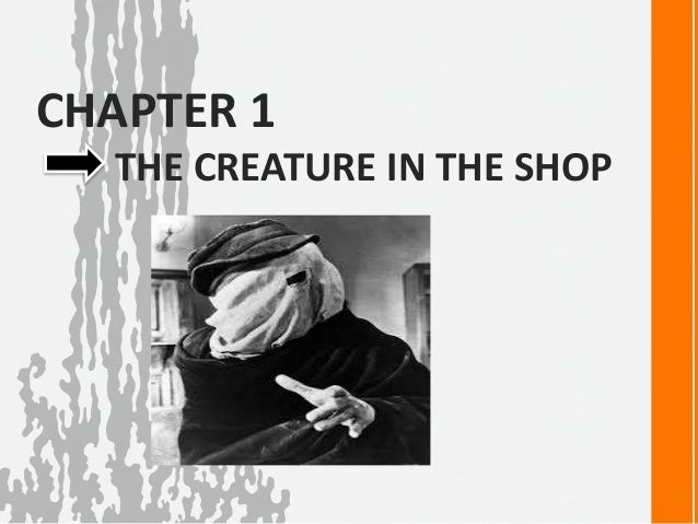 the elephant man chapter summaries setting characters  chapter 1 the creature in the shop 5