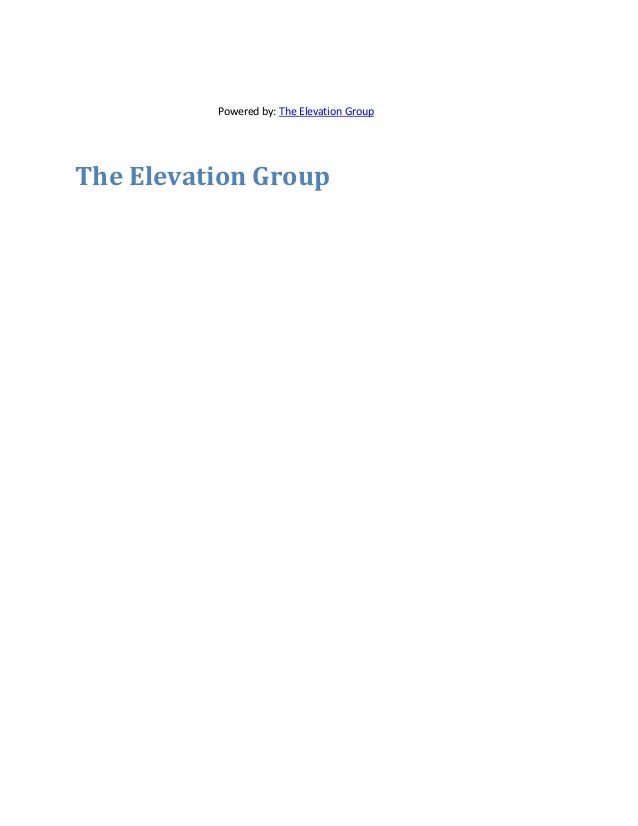 elevationgroup