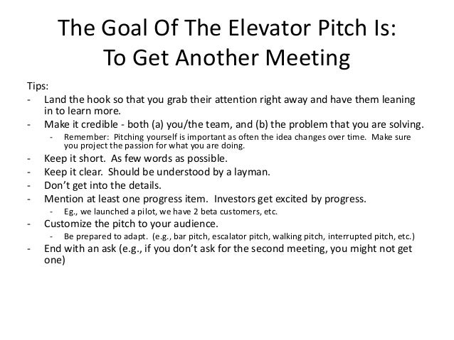 Elevator pitches: examples and suggestions for students | titan.