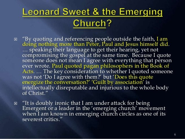 """ """"By quoting and referencing people outside the faith, I am doing nothing more than Peter, Paul and Jesus himself did. … ..."""