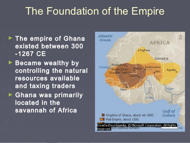 The Empire of Ghana on tourist map of ghana, soil map of ghana, gold map of ghana, population density map of ghana, weather map of ghana, energy map of ghana, government map of ghana, culture map of ghana, oil map of ghana, agricultural map of ghana, mineral map of ghana,