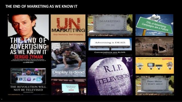 Fredrik Hallberg: The end of marketing as we know it Slide 3