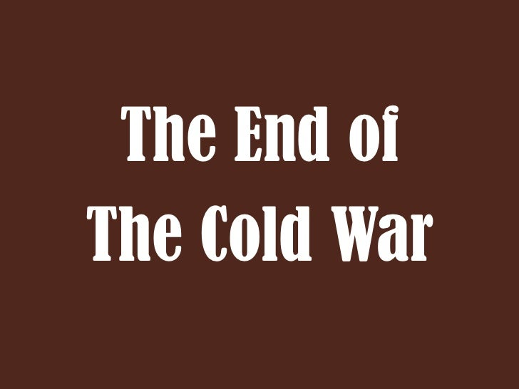 end of cold war - photo #37