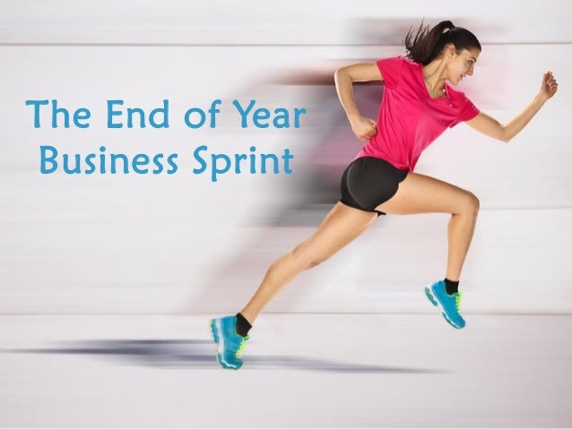 The End of Year Business Sprint