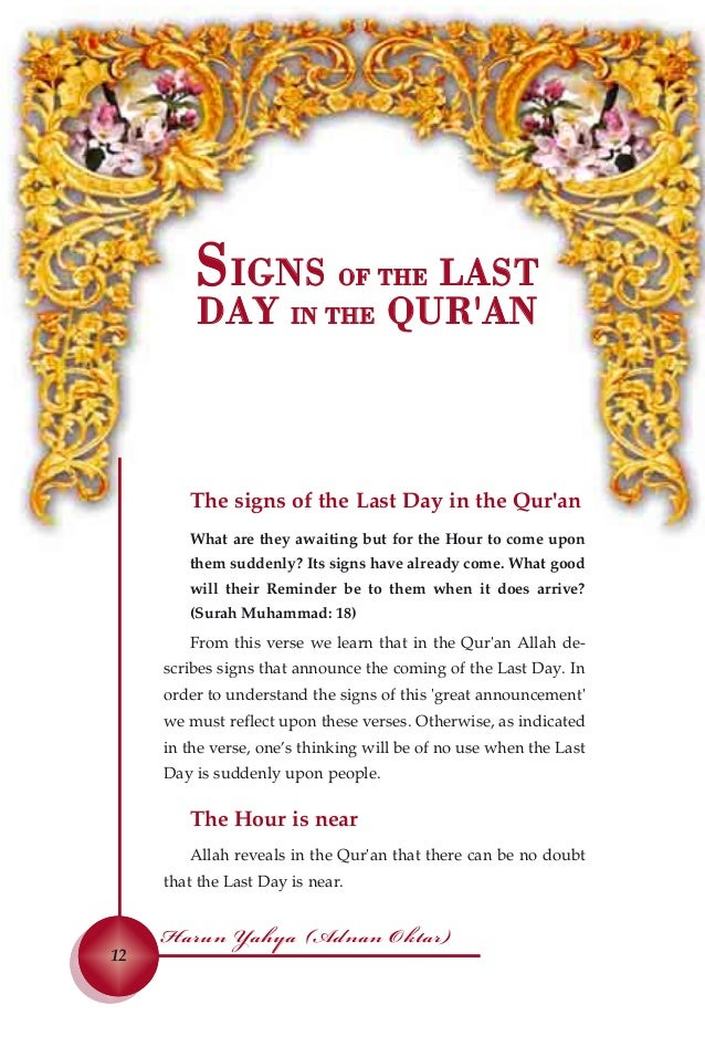 The end times and hazrat mahdi (as)