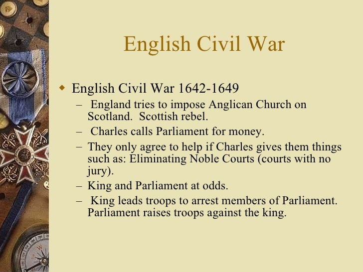 "an introduction to the history of the english civil war in 1642 Religion in the british civil wars by continued in history of the great civil war, 1642 his essay titled ""the religious context of the english civil war."