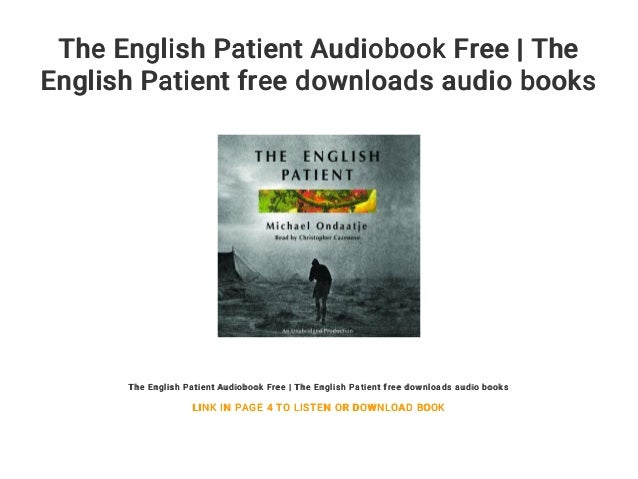The english patient audiobook free | the english patient free downloa….