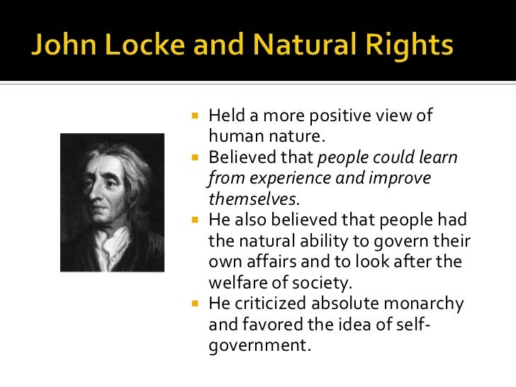john locke understood the fact that guy lacking united states government was